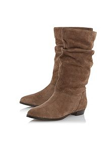 Dune - Ralissa Slouch Clf Boots - £89